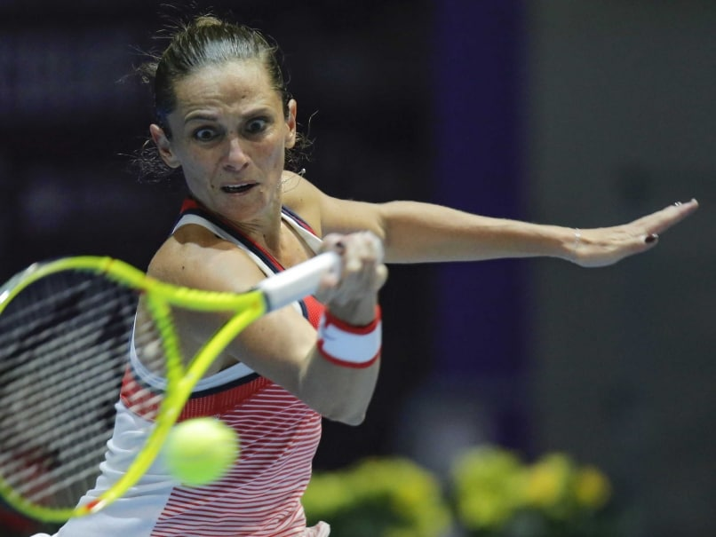 Top Seed Roberta Vinci Knocked Out of Malaysian Open