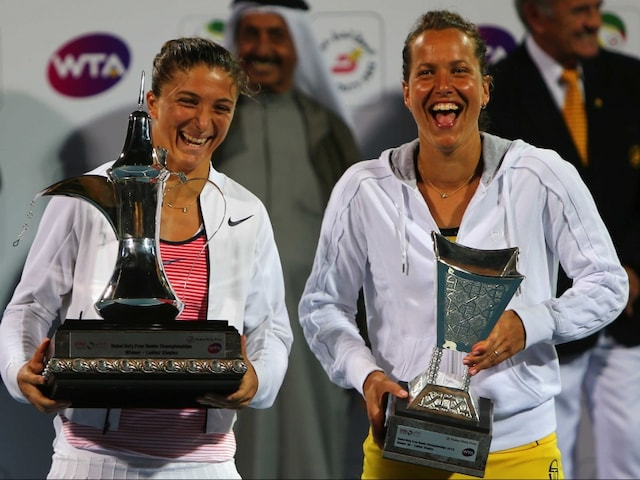 Sara Errani Sweeps Past Barbora Strycova to Clinch Dubai Title