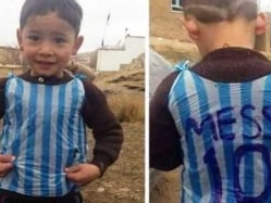Lionel Messi's 'Biggest Fan' In Plastic Bag Argentina Shirt Found in Afghanistan