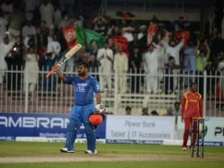 Mohammad Shahzad Creates History for Afghanistan against Zimbabwe in Sharjah Twenty20