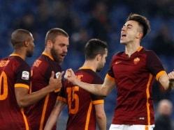 Serie A: Stephan El Shaarawy Stunner on Debut as Roma Edge Frosinone