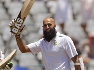 Hashim Amla Leads South Africa Fightback Against England in Second Test on Day 3