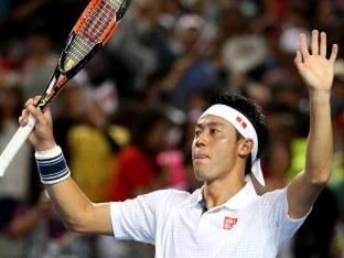 Kei Nishikori Thrashes Jo-Wilfried Tsonga to Reach Australian Open Quarter-Finals