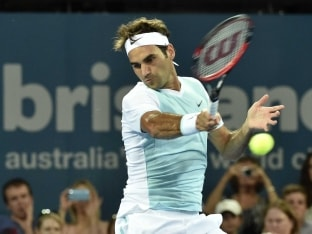 Roger Federer Opens His 2016 Season With Comfortable Win in Brisbane International