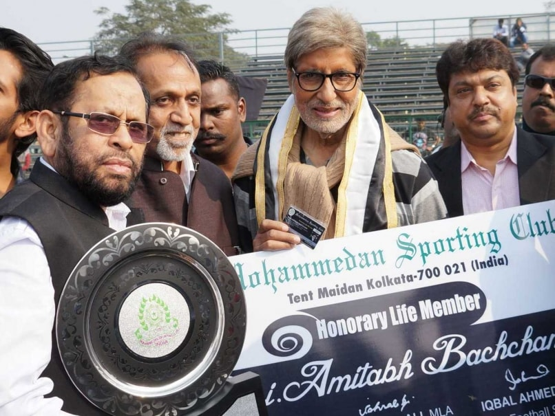 Mohammedan Sporting Football Club Bestows Life-Time Membership to Amitabh Bachchan