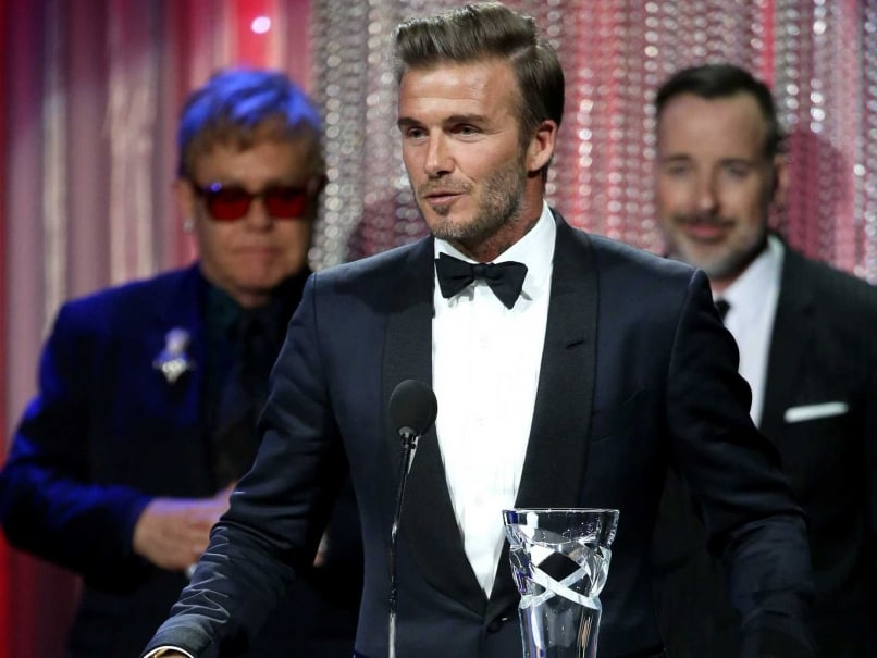 David Beckham Receives UNICEF Award