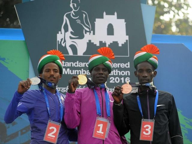 Kenyas Gideon Kipketer Wins Mumbai Marathon, Sets New Course Record