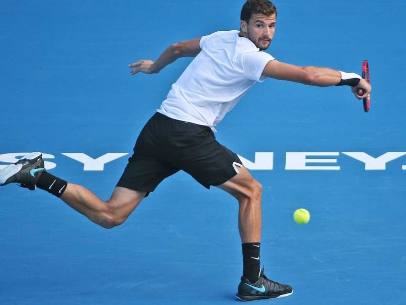 Grigor Dimitrov Faces Victor Troicki in Sydney International Final