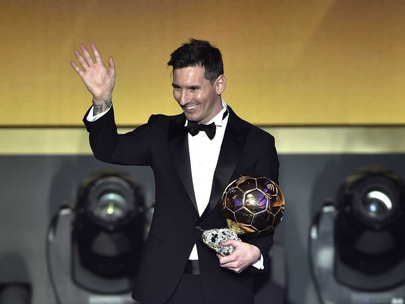Lionel Messi Wins Ballon D'Or Trophy for Record Fifth Time