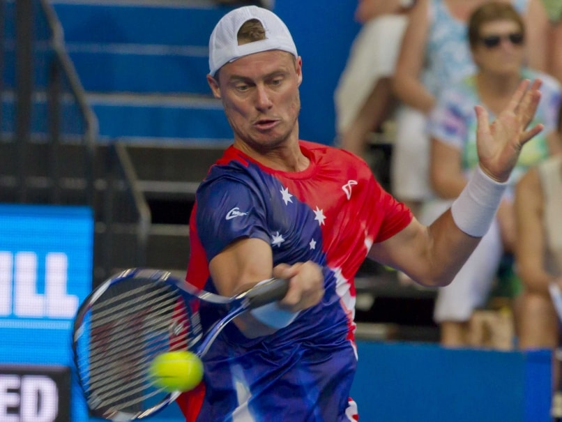 Czech Republic beats Lleyton Hewitt, Australia team at Hopman Cup