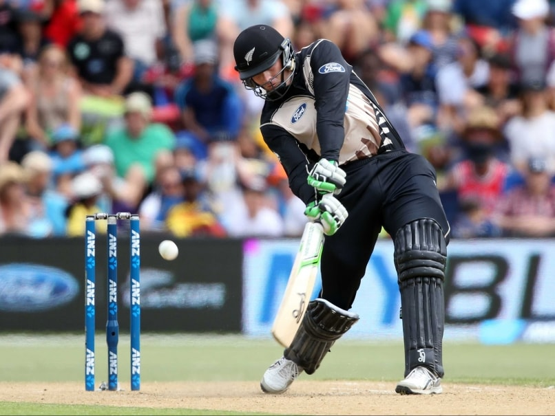 Martin Guptill Blitzkrieg Guides New Zealand to Narrow Win Over Sri Lanka