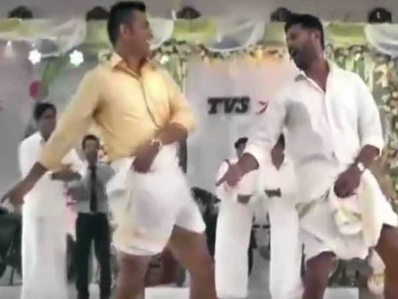 Mahendra Singh Dhoni, Prabhu Deva Enthrall Viewers With New 'Lungi Dance'