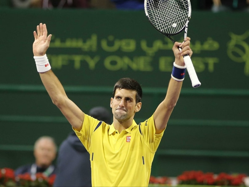Novak Djokovic Eases Into Qatar Quarterfinals