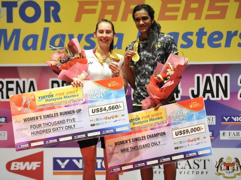 Badminton Association of India Awards PV Sindhu Rs 5 lakh for winning Malaysia Masters