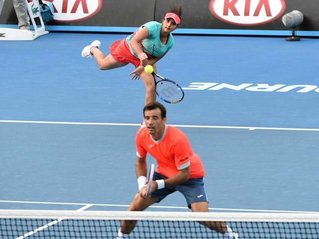 Australian Open: Sania Mirza-Ivan Dodig Lose in Mixed Doubles Semifinal