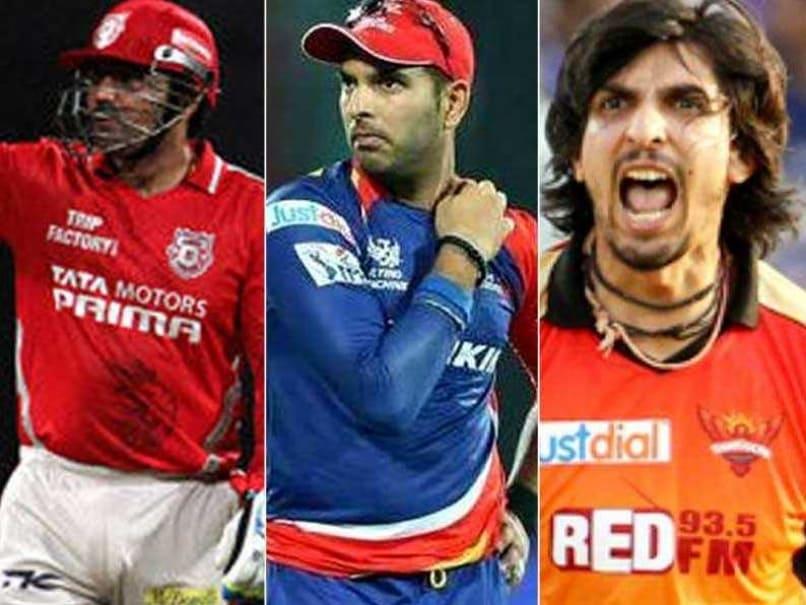 Virender Sehwag, Yuvraj Singh, Ishant Sharma Left Teamless Ahead of IPL 9