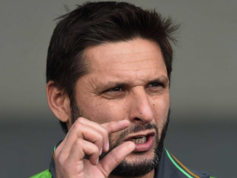 Shahid Afridi Walks Out of Press Conference After Spat With Reporter