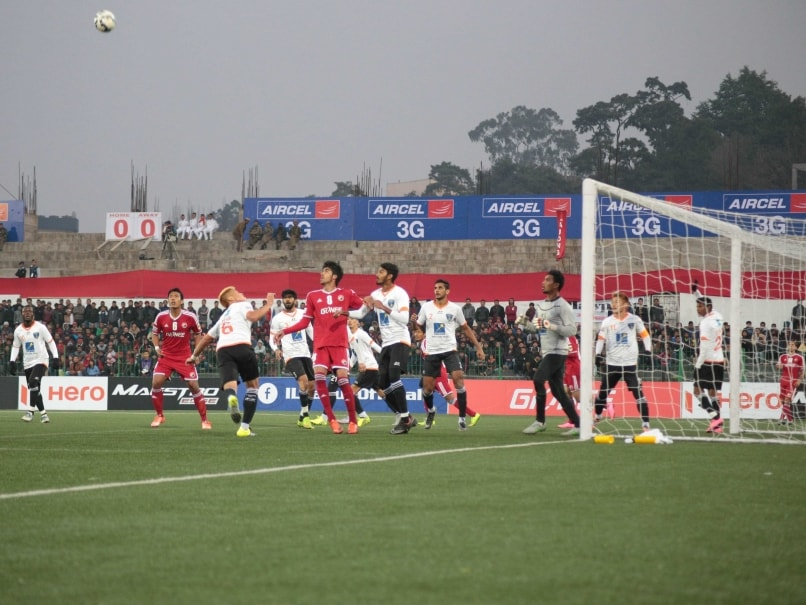 Shillong Lajong FC Play Out Goalless Draw Against Mumbai FC In I-League
