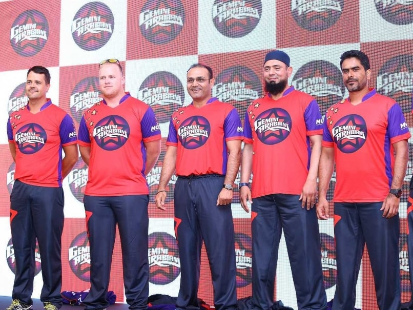 Virender Sehwag to Captain Gemini Arabians in Masters Champions League