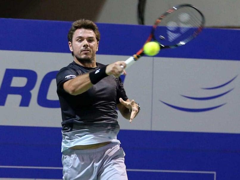 Stanislas Wawrinka Advances to Chennai Open Quarterfinals