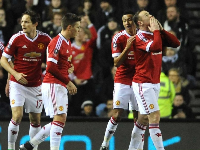 FA Cup: Manchester United Beat Derby 3-1 in Fourth Round to Ease Strain on Louis van Gaal
