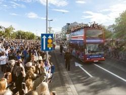 Euro 2016: Rapturous Reykjavik Reception For Iceland's Heroes