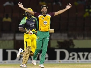 Caribbean Premier League Cricket: Chris Gayle Fails, Permaul Spins Guyana to Win