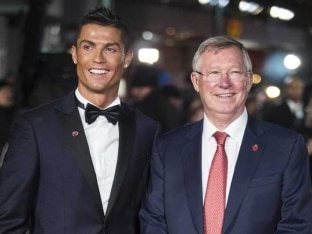 Watch: Cristiano Ronaldo's Emotional Euro 2016 Moment With Alex Ferguson