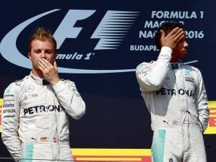 Nico Rosberg Surprised by Lewis Hamilton Podium at Belgian GP