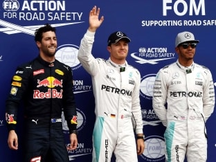 German GP: Nico Rosberg Secures Pole, Championship Leader Lewis Hamilton Second