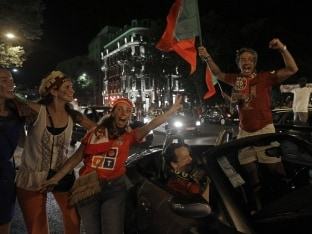Portugal Break Into Jubilation After Euro 2016 Win