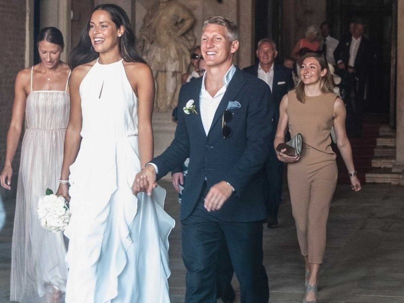 Bastian Schweinsteiger And Ana Ivanovic Get Hitched in Venice