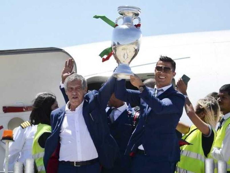 Cristiano Ronaldo Coach Fernando Santos