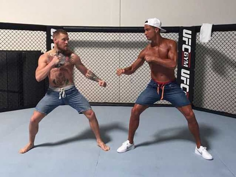 Cristiano Ronaldo Squares Off Against UFC Star Conor McGregor