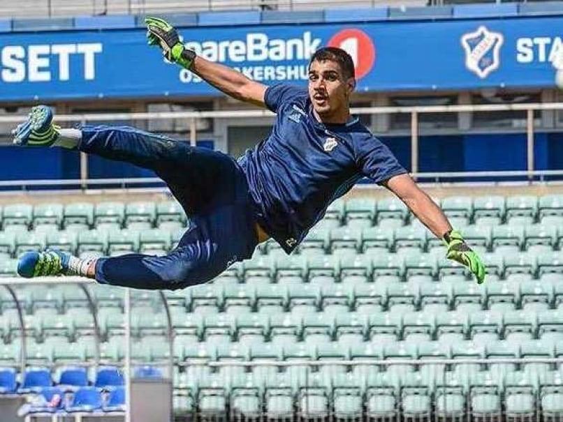 Gurpreet Singh Sandhu First Indian to Play in Europa League