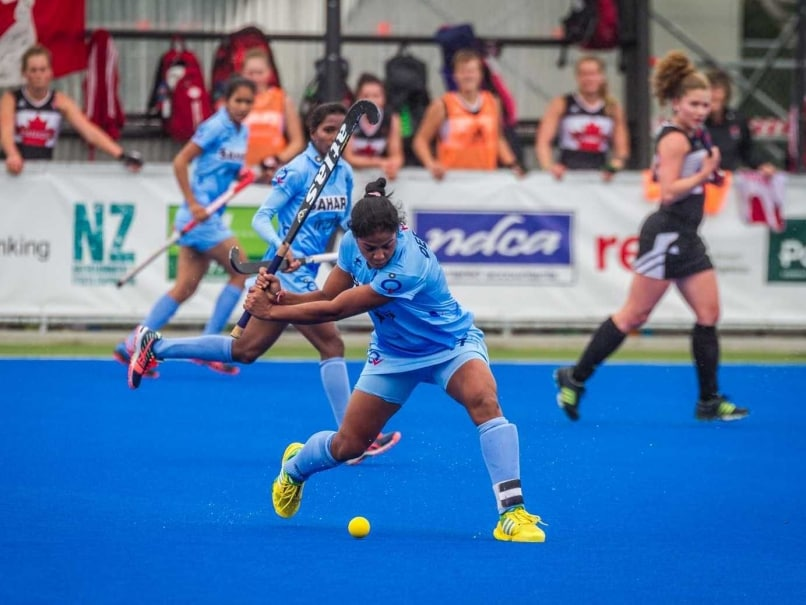 Indian Womens Hockey Team Eases Past Canada 5-2