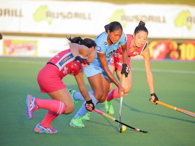 Indian Womens Hockey Team Registers Come-From-Behind Win Over United States