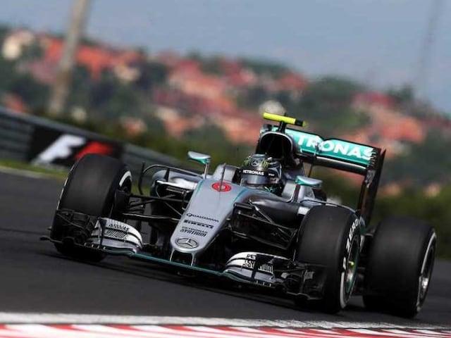 Nico Rosberg Pips Lewis Hamilton to Pole at Hungarian GP