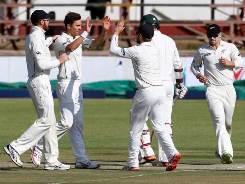 1st Test: New Zealand Maul Zimbabwe by an Innings and 117 Runs to Take 1-0 Lead