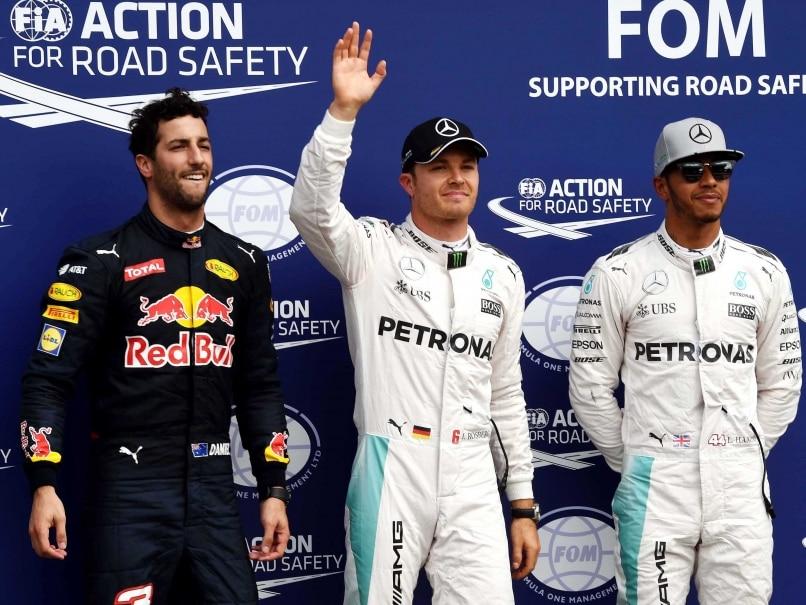 German GP: Nico Rosberg Secures Pole, Championship Leader Lewis Hamilton Second