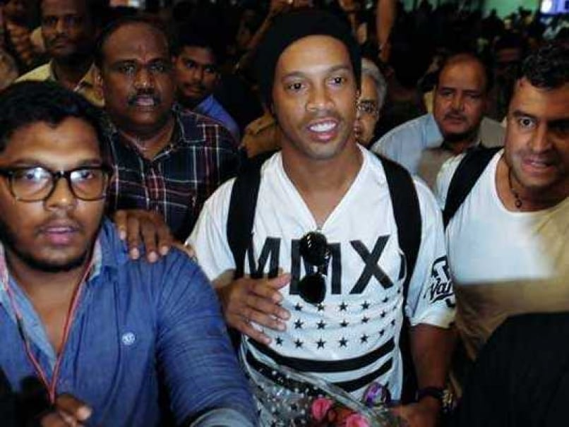 Premier Futsal League: Ronaldinho Arrives In India To Add Dazzle