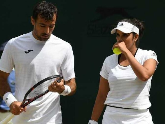 Wimbledon: Sania Mirza, Rohan Bopanna Crash Out in Mixed Doubles