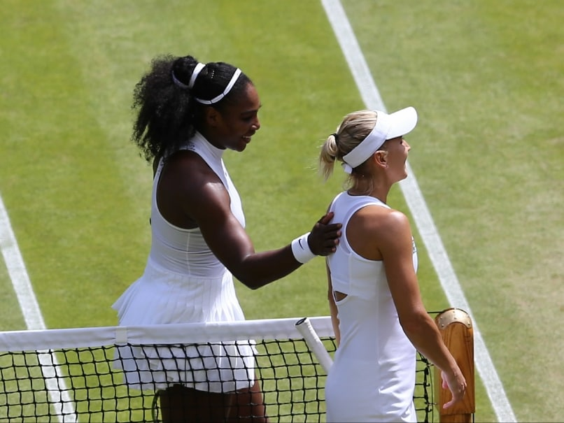 Serena Williams Powers to Wimbledon Final, One Win Away From Slam No.22