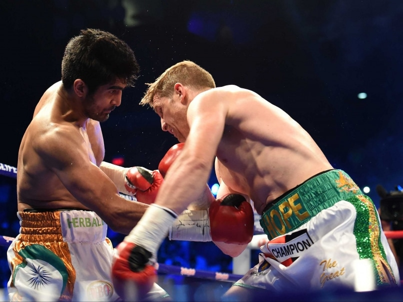 Vijender Singh Kerry Hope fight WBO Asia Pacific
