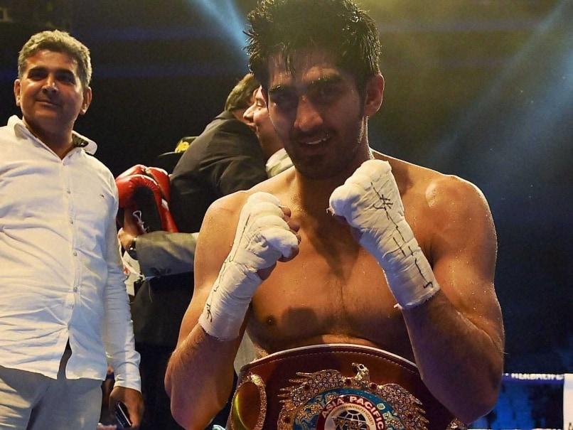 Vijender Singh Dedicates WBO Asia-Pacific Title to Muhammad Ali
