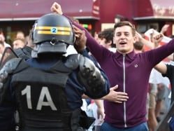 Euro 2016: French Riot Squad Charges Against England, Russia Fans