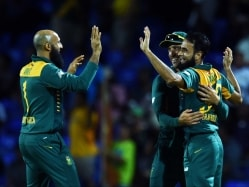 Imran Tahir's Seven-Wicket Haul Leaves West Indies Reeling, South Africa Win