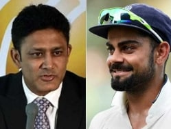 Virat Kohli Welcomes Appointment of 'Kumble Sir' as Team India Head Coach