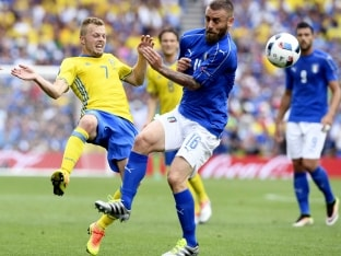 Euro 2016: Daniele de Rossi to Miss Italy's Quarterfinal Clash vs Germany