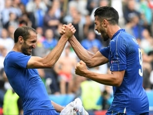 Euro 2016: Italy Dump Champions Spain Out, To Face Germany in Last Eight